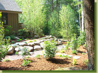 Kerns Nursery Landscaping Feature - please click here to see this project in more detail ... larger photos may take a minute to load